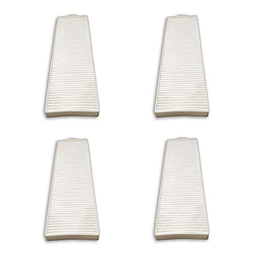 ZVac 4Pk Compatible HEPA Filters Replacement for Bissell Style 8 & 14 Filters. Replaces Parts# 2036608, 3091, 203-6608. Fits: All Bissell Lift-Off, Momentum and Velocity Series Bagless Uprights.