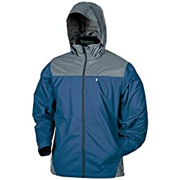 Frogg Toggs River Toadz Pack Jacket, Small, Blue/Slate