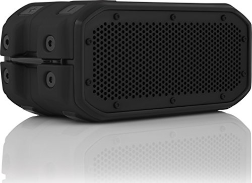 BRAVEN BRV-1M Portable Wireless Bluetooth Speaker 12 Hours Waterproof Built-in 2200 mAh Power Bank Charger – Black Black
