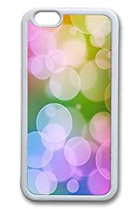 Colorful Bubbles Slim Soft Cover Case For Iphone 6 Plus (5.5 Inch) Cover PC White Cases