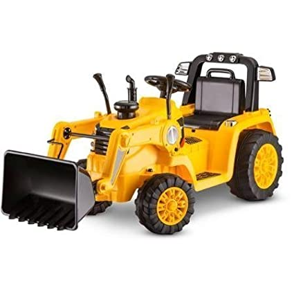 low priced c0599 07716 Kidtrax CAT Bulldozer/Tractor 6V Battery Powered Ride-On, Yellow