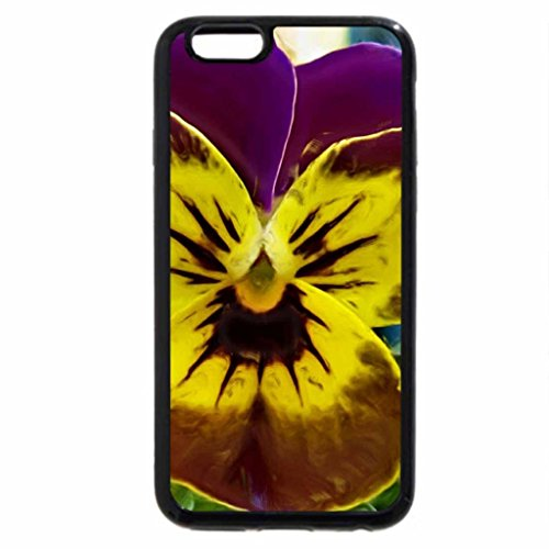 iPhone 6S / iPhone 6 Case (Black) Garden and Wild flower