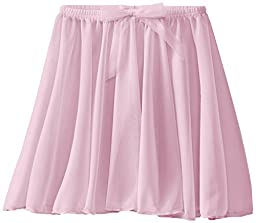 Capezio Little Girls\' Children\'s Collection Circular Pull-On Skirt, Pink, Small