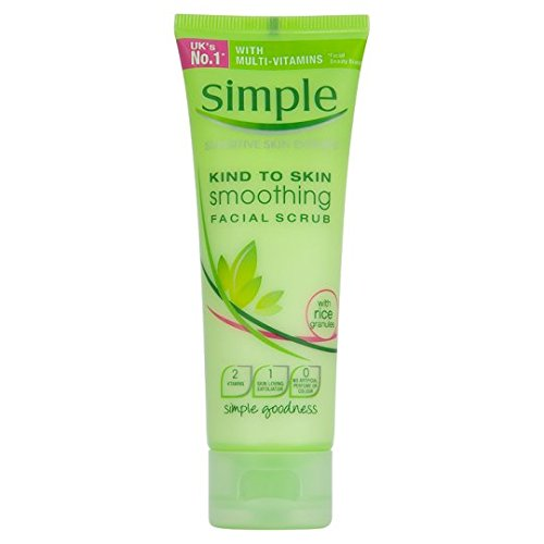 Simple Kind To Skin Soothing Face Scrub 75Ml