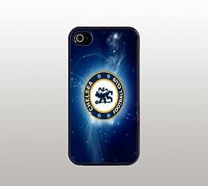 Chelsea Football Snap-On Case for iPhone Apple 4 4s - Hard Plastic - Black - Soccer