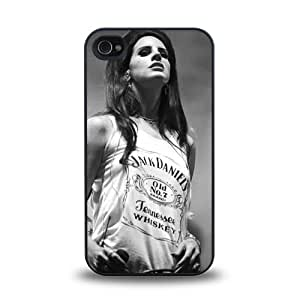iPhone 4 4S case protective skin cover with American Pop Singer Lana Del Rey pretty design #6
