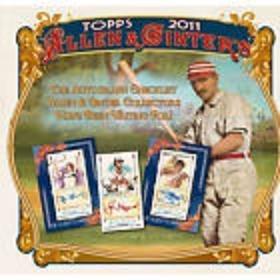 2011 Topps Allen and Ginter Baseball Hobby Box Allen Baseball