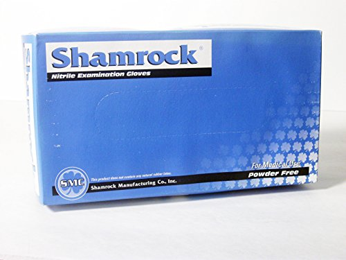 Shamrock Nitrile Examination Gloves Medium
