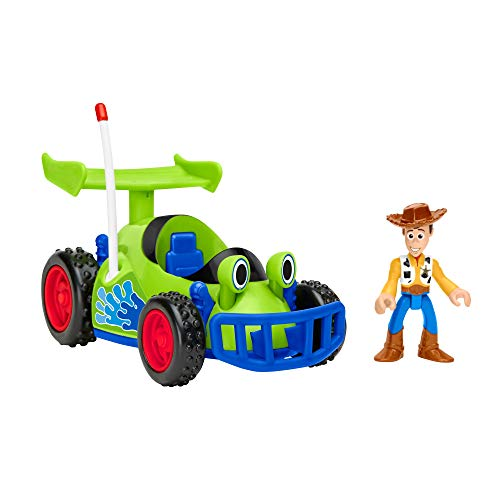 Fisher-Price Disney/Pixar Toy Story R/C & Woody]()