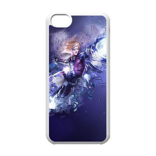 L4C85 League of Legends Ezreal E8I1QM cas d'coque iPhone de téléphone cellulaire 5c couvercle coque blanche KU7BJX9BU