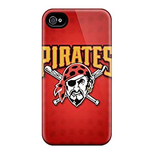Great Hard Phone Case For Iphone 6plus With Allow Personal Design Nice Pittsburgh Pirates Pattern SherriFakhry