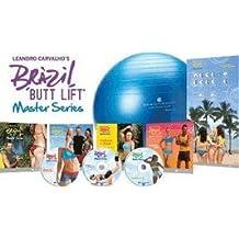 LEANDRO CARVALHO'S BRAZIL BUTT LIFT THE WORKOUTS 3 DVD SET