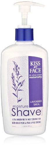 Kiss My Face Moisture Shave, Lavender & Shea 11 oz