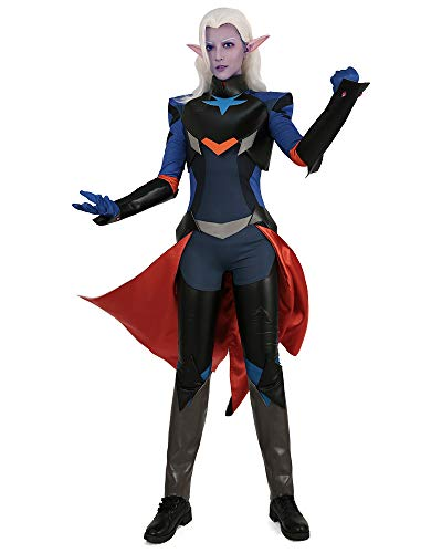 Prince Keith Halloween (Cosplay.fm Men's Prince Lotor Cosplay Costume Armor Suit Jumpsuit (M))
