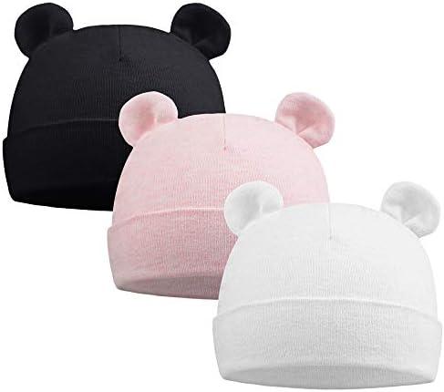 Baby Warm Bear Ears Style Cartoon Hat Autumn Winter Unisex Cute Beanie Cap