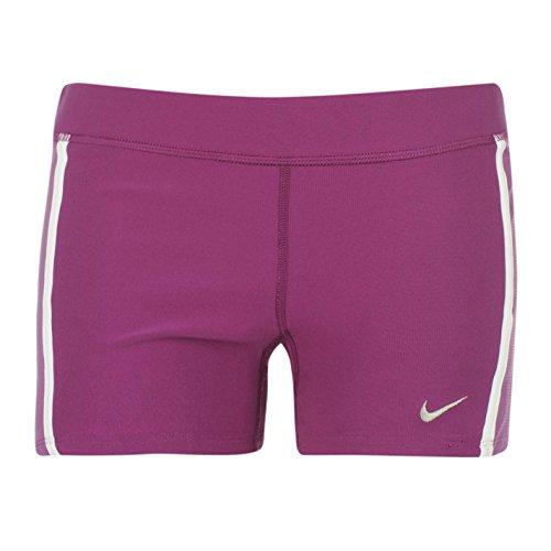 Nike Frauen Lauf Tempo Boy Short Lila