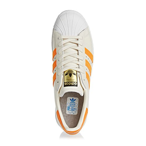Adidas Superstar 80s chaussures 10,0 off white/eqt orange
