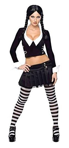 Wednesday Addams Costume - X-Small - Dress Size (Wednesday Addams Shoes)