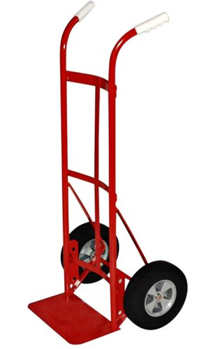 Milwaukee Hand Trucks 47132 Dual Handle Truck with 10-Inch Solid Puncture Proof Tires
