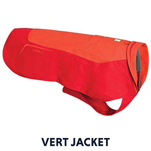 RUFFWEAR - Vert Waterproof Windproof Winter Jacket for Dogs, Sockeye Red, Large