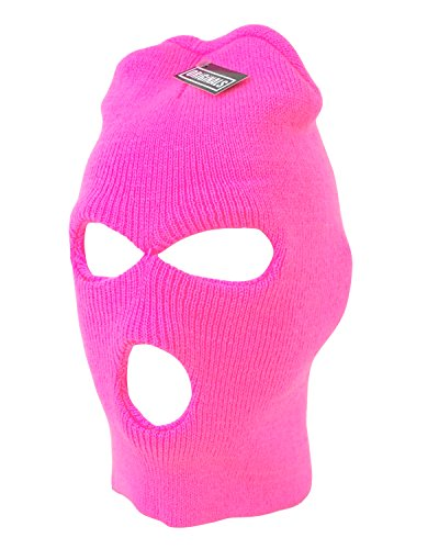 Ski Mask Beanie Knit Cap 3 Hole Face Warm Winter Snow Headwear Skully Originals Brand - Hole Mask Ski