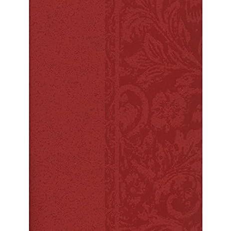 Steves Wallpaper Thibaut Palladio Red Double Roll Designer