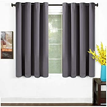 Amazon.com: NICETOWN Bedroom Blackout Curtains Panels - Window ...
