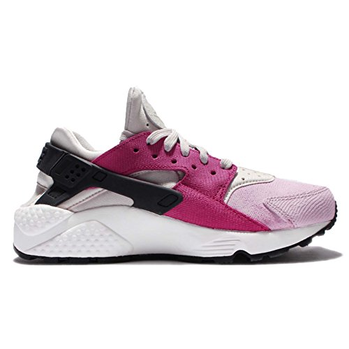 Nike Huarache Run Premium Mode Sneakers Licht Bone / Black-nbl Rd-plm Fg