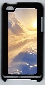 Arctic Sun Polycarbonate Hard Case Cover for iPod 4 ¨CBlack