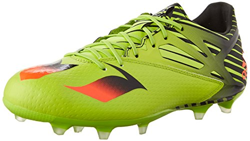 Picture of adidas Performance Men's Messi 15.2 Soccer Shoe,Semi Solar Slime/Solar Red/Black,7.5 M US