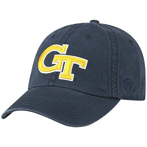 big sale 8171d 2479f Georgia Tech Yellow Jackets Adjustable Hats. Top of the World ...