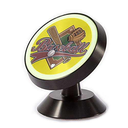 Car Phone Mount Holder Baseball Fan 360¡ã Rotation Magnetic Car Phone Holder Universal with Super Strong -