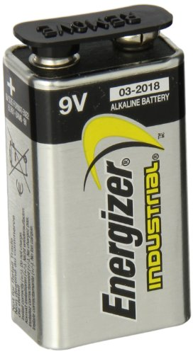Energizer EN22 Industrial Alkaline Batteries, 9V, 12/Box (Industrial Alkaline Batteries)