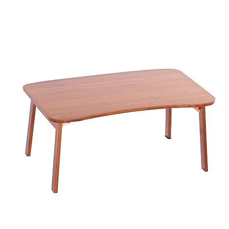 Amazon.com: Mesa plegable de bambú cama plegable portátil ...