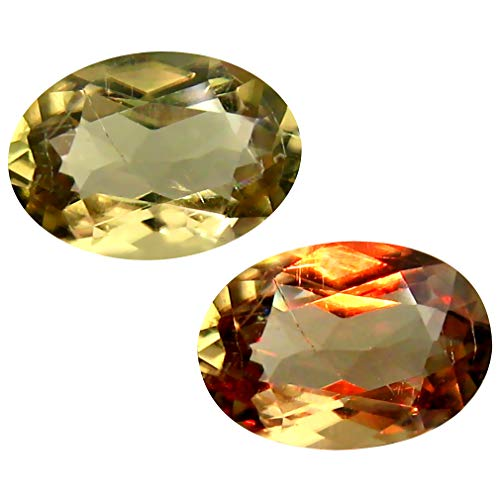 Deluxe Gems 2.44 ct Oval Cut (10 x 7 mm) Unheated/Untreated Turkish Color Change Diaspore Natural Loose Gemstone