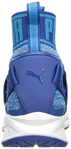 Scarpa cross trainer da uomo Ignite Evoknit, True Blue / Blue Danube / Puma White, 8 M US