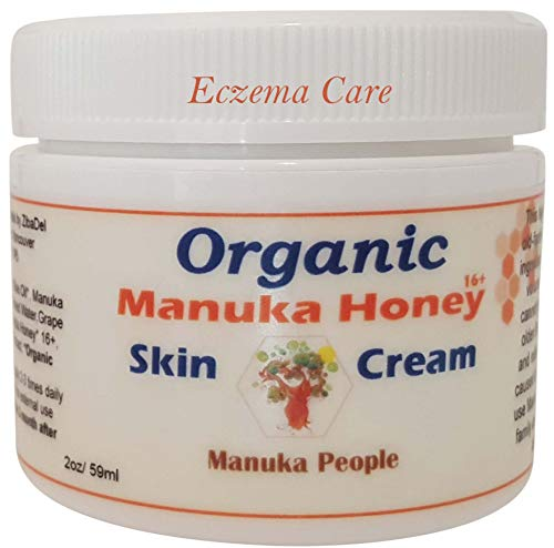 Intense Moisture Baby Skin Cream By MANUKA PEOPLE for Eczema, Psoriasis, Rosacea Or As An All Purpose Cream. A Lasting Treatment for Dry, Cracked, Itchy, Red & Irritated Skin ()