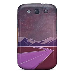 Defender Case For Galaxy S3, Road To A Moonset Pattern