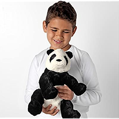 IKEA KRAMIG 902.213.18 Panda, Soft Toy, White, Black, 12.5 Inch, Stuffed Animla Plush Bear: Toys & Games