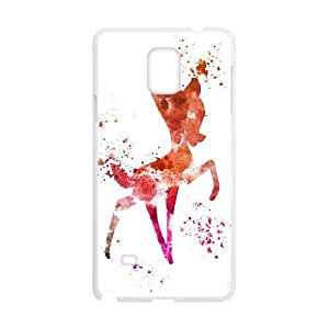 Bambi Samsung Galaxy Note 4 Cell Phone Case White persent xxy002_6929035