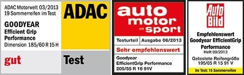 Sommerreifen GOODYEAR 205//50 R16 87W EfficientGrip Performance FP