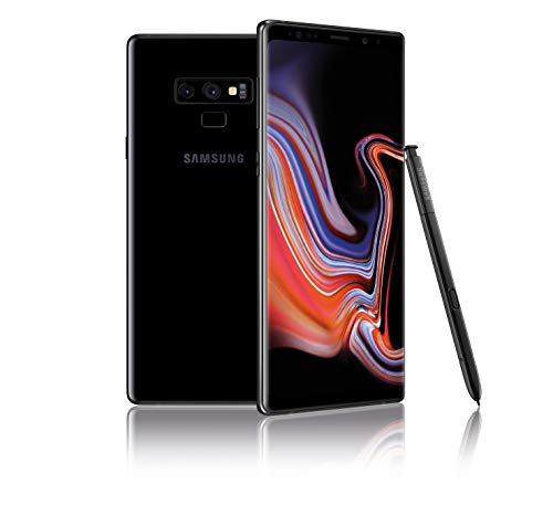 Samsung Galaxy Note9 512GB (Single-SIM) SM-N960F Factory Unlocked 4G/LTE Smartphone - International Version (Midnight Black)