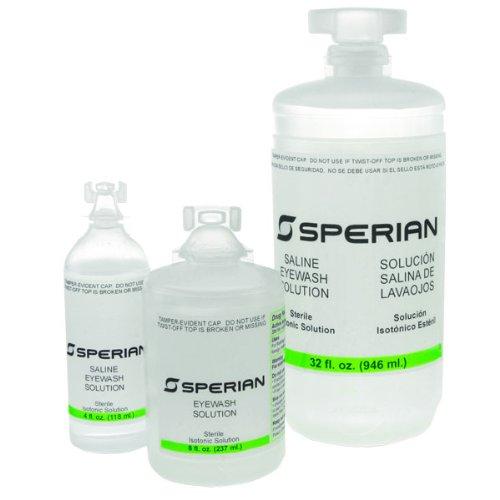 Lot of 24 1oz bottle saline eyewash solution
