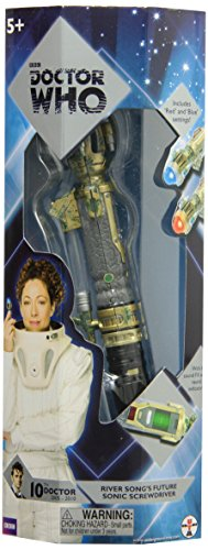 Underground Toys Doctor Who River Song Future 10th Series 4 Sonic Screwdriver