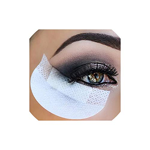 - 20piece/pack Cosmetic Cotton Shield for Eyeshadow Shields Protector Pads Eyes Lips Makeup Cosmetic Cotton Application Tool