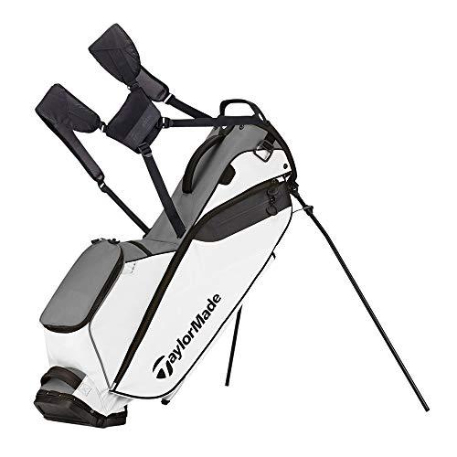 TaylorMade Golf Flextech Lite Stand Bag Gray/White (Grey/White)