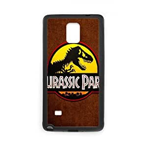 Jurassic Park Samsung Galaxy Note 4 Cell Phone Case Black Customized Gift pxr006_5278094