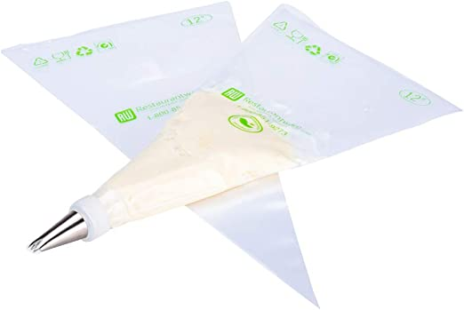 Restaurantware RWP0421C Tek Bolsa de plástico transparente para ...