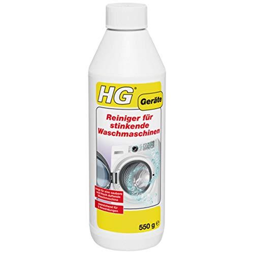 HG - Limpiador para lavadoras con olor (550 g): Amazon.es: Grandes ...