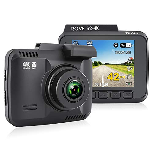 Rove R2-4K Dash Cam Built in WiFi GPS Recorder UHD Deal (Large Image)